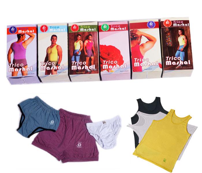 بسته های جدید زیر پوش مردانه تریکو مشعل